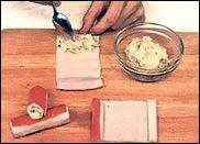 Рецепт рулетиков из крабовых палочек