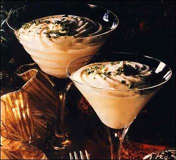 Десерт-крем из шампанского